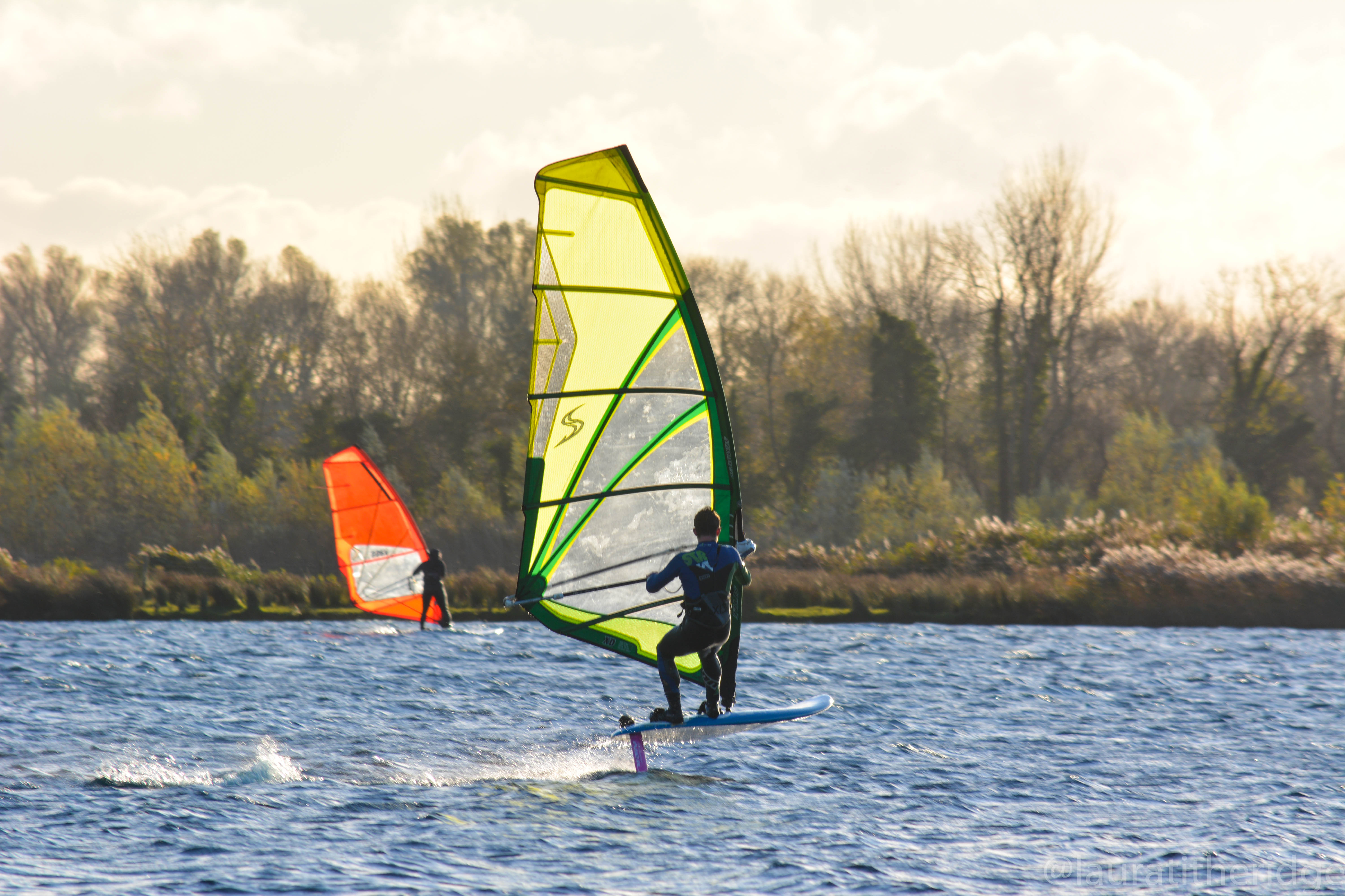 Luke Foiling at BaBrUWE