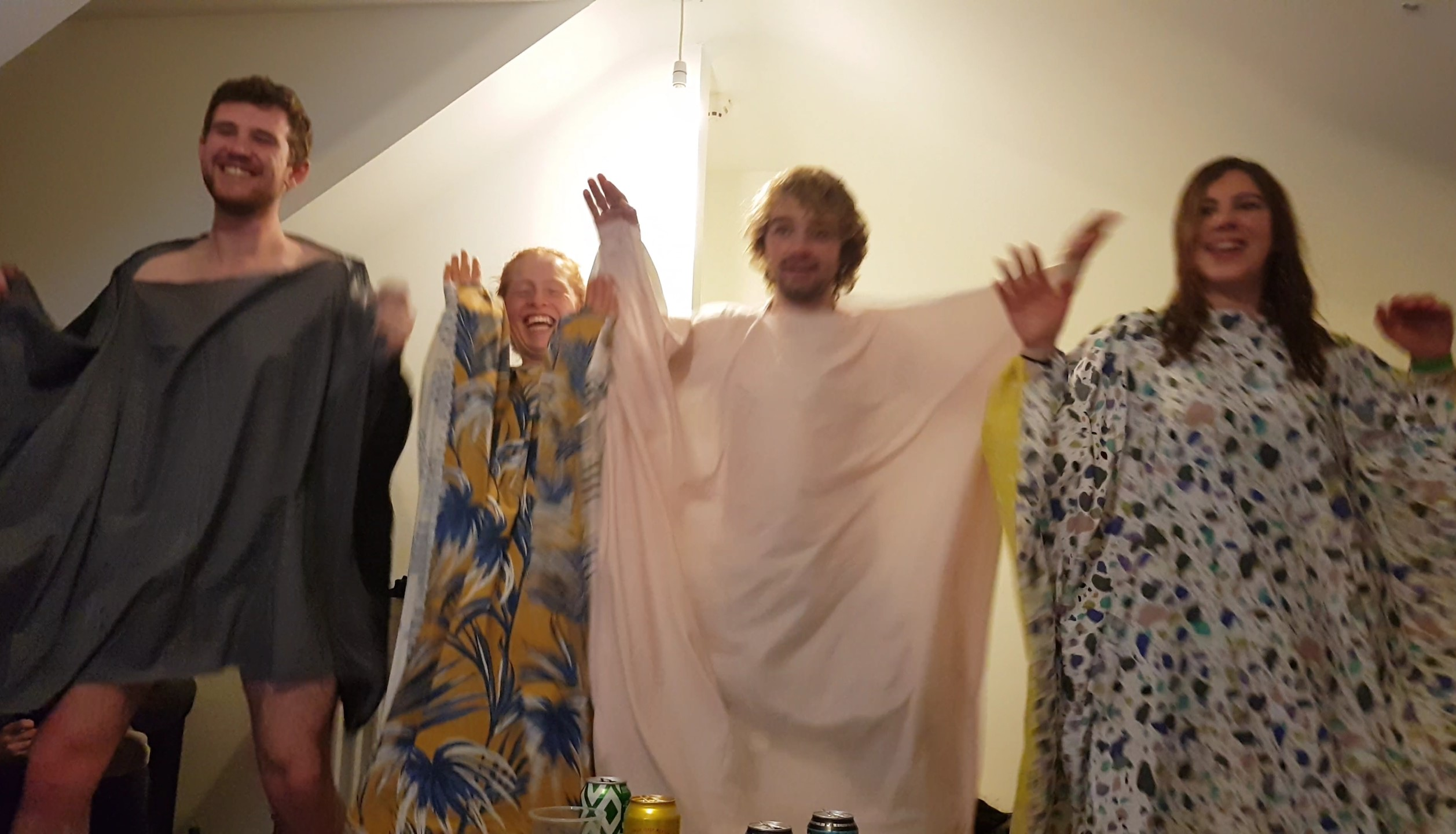 Blanket dance meme